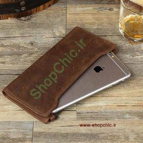 طرح برش لیزری کیف پول موبایلی اپل