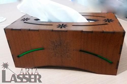 جادستمال کاغذی چوبی