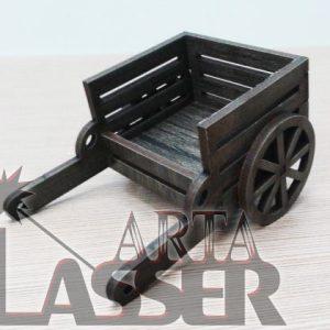 ماکت گاری کوچک چوبی