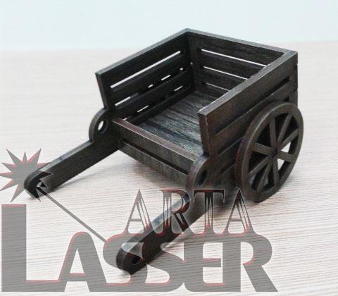 ماکت گاری چوبی