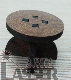 ماکت میز چوبی