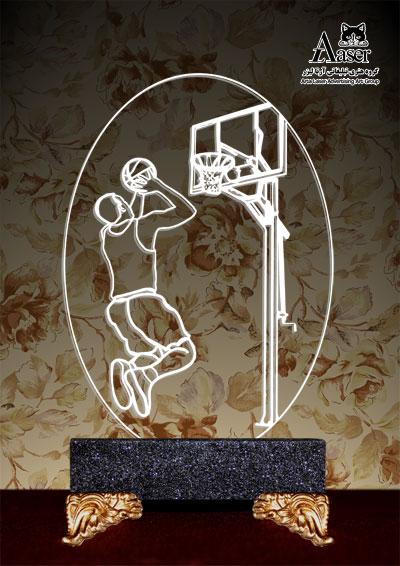 چراغ خواب طرح بسکتبالیست کد ۱