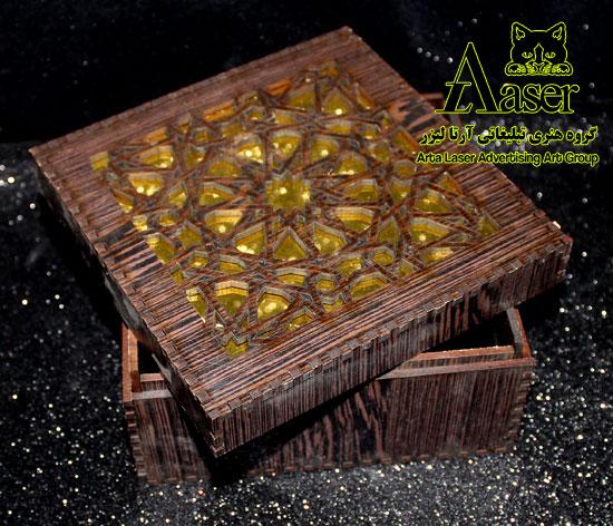 جعبه کادویی چوبی