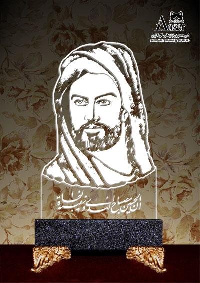 تمثال مبارک امام حسین (ع)