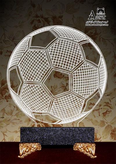 چراغ خواب طرح توپ فوتبال