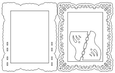 طرح آماده برش لیزری آینه هفت سین پروا