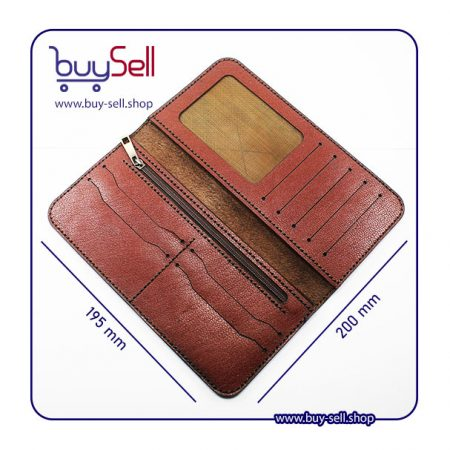 leather long wallet patterns