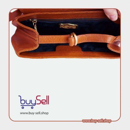 الگوی کیف چرم دوشی زنانه ساده