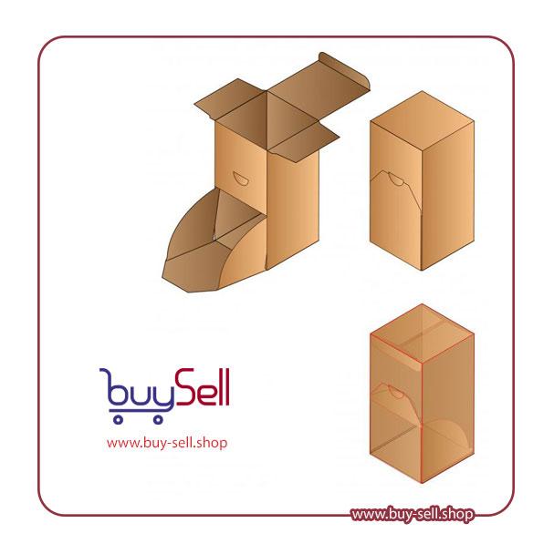 الگوی جعبه مقوایی