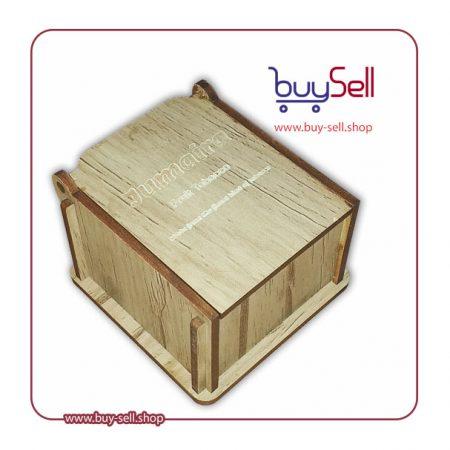 طرح لیزری جعبه چوبی