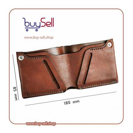 الگوی کیف پول چرم مردانه کوچک