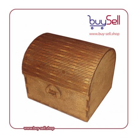 طرح برش لیزر صندوقچه چوبی