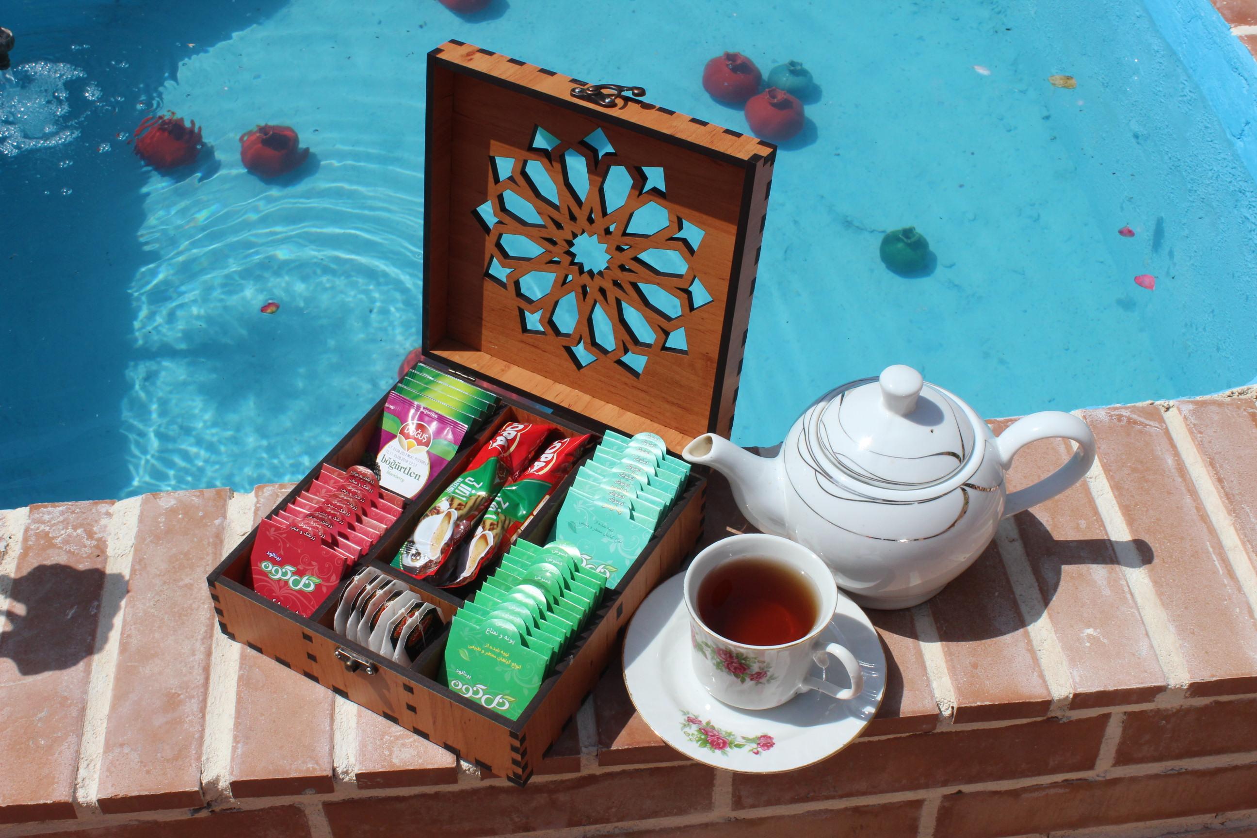 جعبه چای و دمنوش